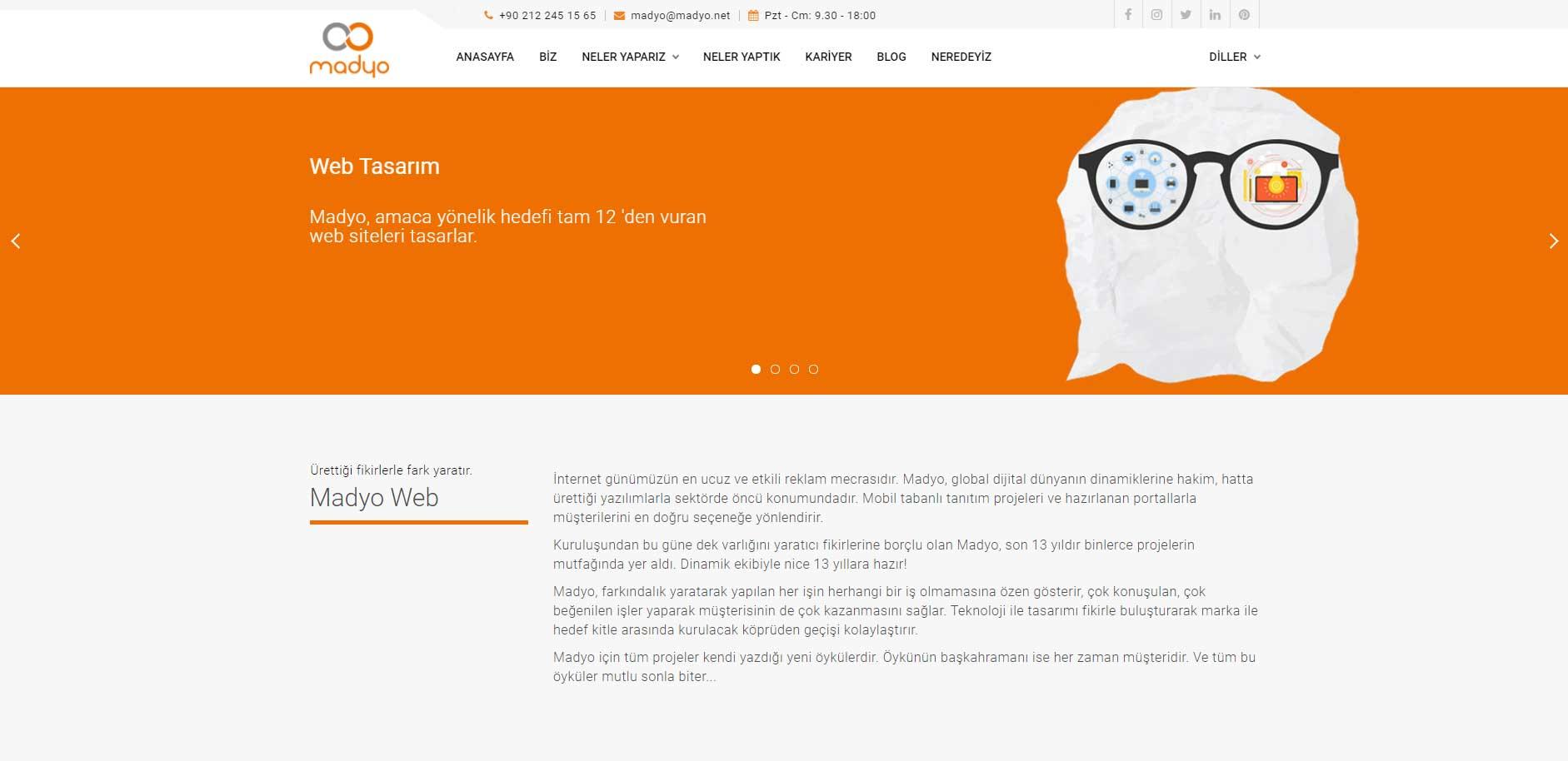 Web Tasarım - Admin Paneli